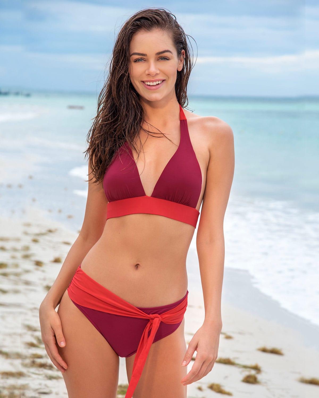 Leonisa Halter Bikini - Mid-Rise Bottom