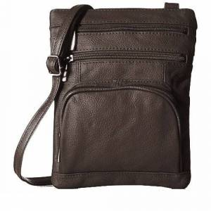 Generic Super Soft Leather Crossbody Bag with RFID Blocking Technology  size: