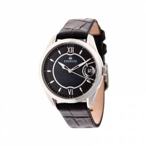 Empress Messalina Automatic Mother-Of-Pearl Leather-Band Watch