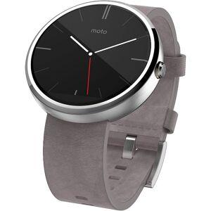 Motorola Moto 360 Modern Timepiece Leather Smart Watch