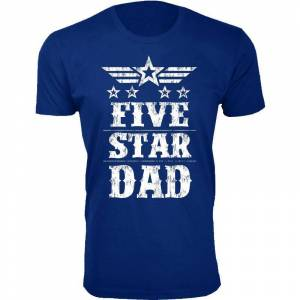 Cotton Thugs Men's Five Star Father's Day T-shirts  size: