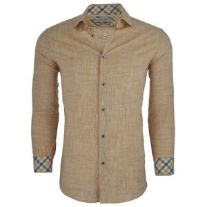 Tom Baine Men's Slim Fit Long Sleeve Casual Button Down Shirt