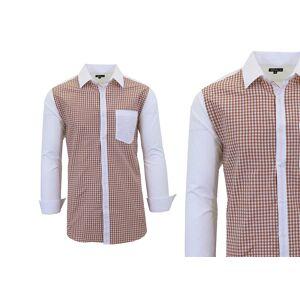 Galaxy By Harvic Long Sleeve Dress Shirt For Men