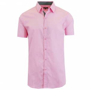 Galaxy By Harvic Men's Short-Sleeve Solid Button-Down Shirts