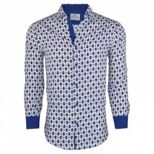 Suslo Couture Men's Spring Casual Long Sleeve Button Down Shirt