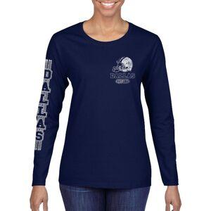 Cotton Thugs Women's Game Day Football Long Sleeve Shirts