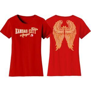 Cotton Thugs Women's Football Team Angel T-Shirt