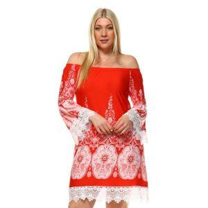 White Mark Plus Size 'Mya' Dress