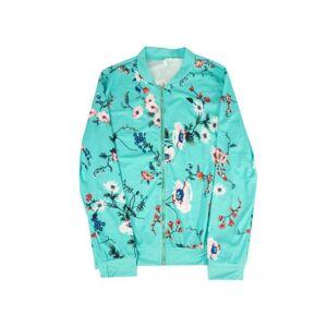Generic Women's Floral-Patterned Jacket