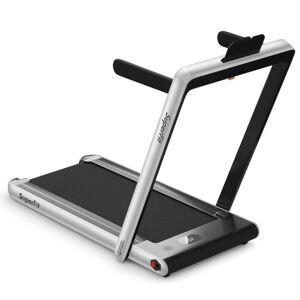 Generic 2 in 1 Folding Treadmill Dual Display with Bluetooth Speaker