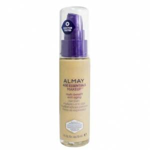 Almay Age Essentials Anti-Aging SPF 15 Foundation Makeup - 2 Pack