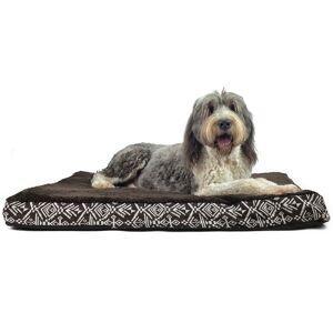 Furhaven Plush Kilim Patterned Orthopedic Dog Bed  size: