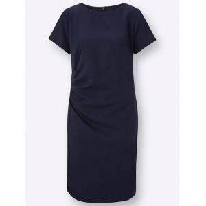 creation L Ruched Shift Dress  - Blue - Size: 20