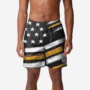 FOCO Pittsburgh Steelers Americana Swimming Trunks - XL