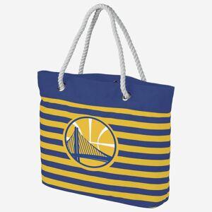 FOCO Golden State Warriors Nautical Stripe Tote Bag