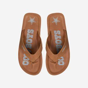 FOCO Dallas Cowboys Color Pop Contour Flip Flop - S