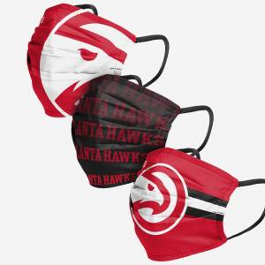 FOCO Atlanta Hawks Matchday 3 Pack Face Cover