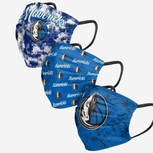 FOCO Dallas Mavericks Womens Matchday 3 Pack Face Cover
