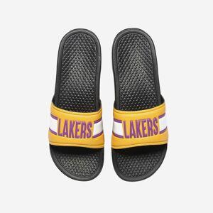FOCO Los Angeles Lakers Raised Wordmark Slide - M