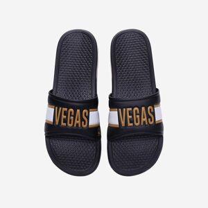FOCO Vegas Golden Knights Raised Wordmark Slide - M