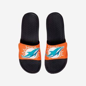 FOCO Miami Dolphins Cropped Big Logo Slide - M