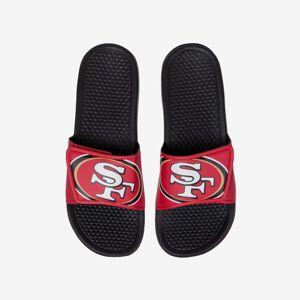FOCO San Francisco 49ers Cropped Big Logo Slide - L
