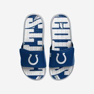 FOCO Indianapolis Colts Bold Wordmark Gel Slide - XL