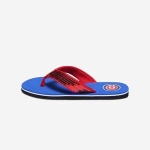 FOCO Chicago Cubs Womens Sequin Flip Flop - XL
