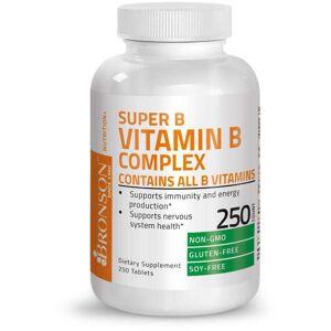 Bronson Vitamins Vitamin B Complex - 250 Tablets
