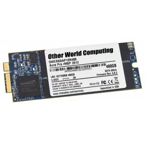 OWC 480GB OWC Aura Pro 6G Solid State Disk for 2012 MacBook Pro with Retina display