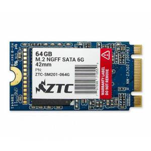 ZTC 64GB ZTC Armor 42mm M.2 NGFF 6G SSD Solid State Disk- ZTC-SM201-064G