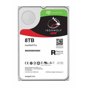 Seagate 8TB Seagate IronWolf 3.5-inch 7200RPM SATA III 6Gbps 256MB Cache Internal Hard Drive