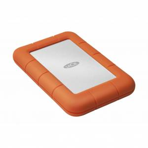 LaCie 4TB Lacie Rugged Mini USB3.0 Portable External Hard Drive, Orange