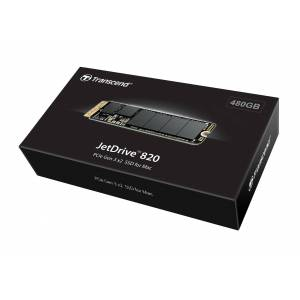 Transcend 480GB Transcend JetDrive 820 PCIe Gen 3 x2 SSD for Select MacBook Air, MacBook Pro, Mac Pro