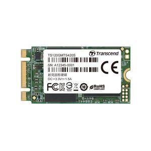 Transcend 120GB Transcend M.2 SATA III 6Gb/s SSD MTS420 3D TLC Flash 42mm Form Factor