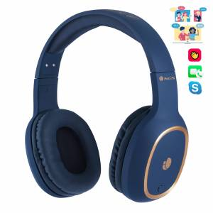 NGS Artica Pride Wireless BT Headphones - Blue