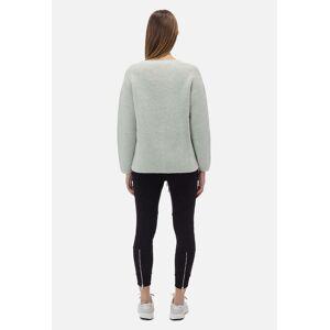 John Elliott - Women's Foggy Wool Cashmere V-Neck Sweater / Opal (Foggy Wool Cashmere V-Neck Sweater / Opal / 0 / X-Small)