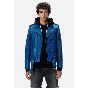 John Elliott X Blackmeans Rider's Jacket / Painted Blue (Blackmeans Rider's Jacket / Painted Blue / 1 / Small)