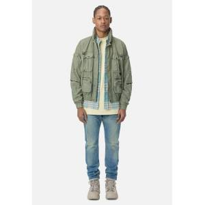 John Elliott Canopy Parachute Jacket / Olive (Canopy Parachute Jacket / Olive / 3 / Large)