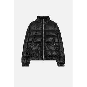 John Elliott Leather Down Jacket / Black (Leather Down Jacket / Black / 3 / Large)