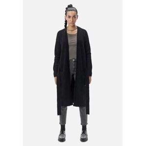 John Elliott - Women's Lima Alpaca Cardigan / Black (Lima Alpaca Cardigan / Black / 3 / Large)