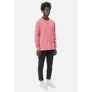 John Elliott LS Classic Tee / Washed Red (LS Classic Tee / Washed Red / 5 / XX-Large)
