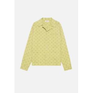 John Elliott Tobacco Shirt / Kawasaki Dot Yellow (Tobacco Shirt / Kawasaki Dot Yellow / 3 / Large)