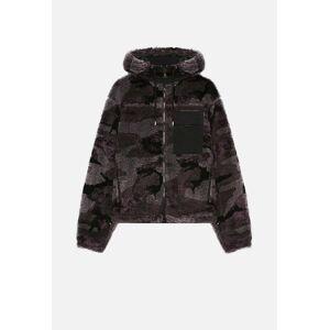 John Elliott Polar Fleece Parka / Moonlight Camo Jacquard (Polar Fleece Parka / Moonlight Camo Jacquard / 4 / X-Large)