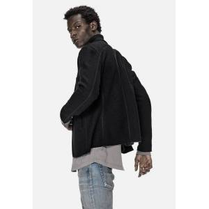 John Elliott Richmond Jacket / Black Wool (Richmond Jacket / Black Wool / 4 / X-Large)