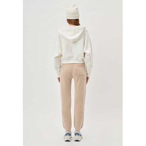 John Elliott - Women's Two Tone Cashmere Sweatpants / Camel X Almond (Two Tone Cashmere Sweatpants / Camel X Almond / 4 / X-Large)