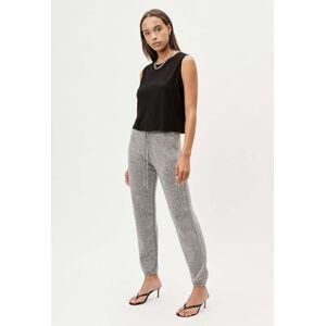 John Elliott - Women's Two Tone Cashmere Sweatpants / Grey X Black (Two Tone Cashmere Sweatpants / Grey X Black / 0 / X-Small)