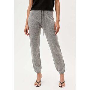 John Elliott - Women's Two Tone Cashmere Sweatpants / Grey X Black