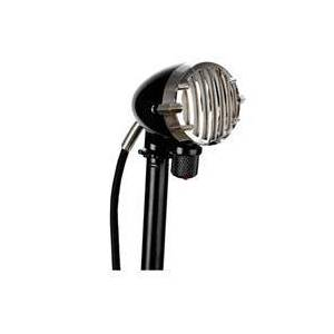"Apex Apex327 High Impedance Dynamic Harmonica Harp Hypercardioid Microphone with Integrated 1/4"" Cable and Volume Control"