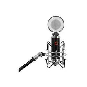 CME Artesia AMC-20 Cardioid Condenser Microphone with Shock Mount and Integrated Metal POP Filter